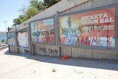Protests in Turkey in june 2013 Stock Image