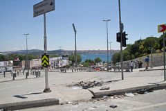 Protests in Turkey in june 2013 Royalty Free Stock Photo