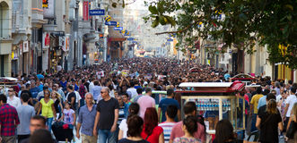 Protests in Turkey Royalty Free Stock Photos