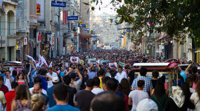 Protests in Turkey Royalty Free Stock Photography