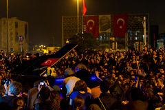 Protests in Turkey Stock Photography