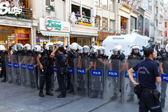 Protests in Turkey Royalty Free Stock Images