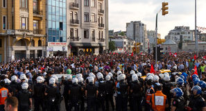Protests in Turkey Stock Photos