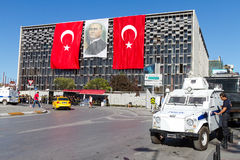 Protests in Turkey Royalty Free Stock Photo