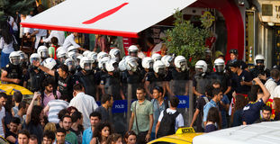 Protests in Turkey Stock Image