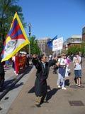 protestujący Obrazy Stock