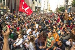protestujący Zdjęcia Stock