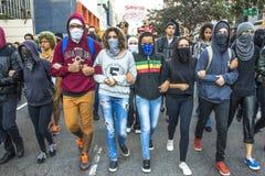 protestujący Fotografia Royalty Free