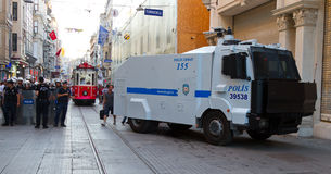 Protesty w Turcja Zdjęcia Royalty Free