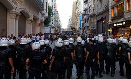 Protesty w Turcja Fotografia Royalty Free