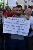 Protesty w Turcja Obrazy Stock
