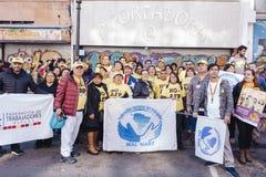 Protesty w Valparaiso Obraz Stock