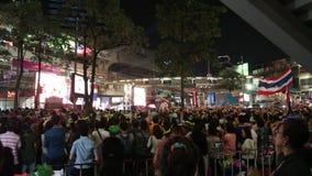 Protesty Zamykali Bangkok zbiory wideo