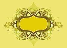 Protetor amarelo, vetor ilustração stock