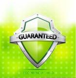 Protetor amigável da garantia de Eco Imagens de Stock Royalty Free
