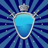Protetor azul Imagens de Stock
