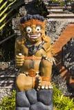 Protetor da estátua a entrada, Sanur, Bali, Indonésia Imagens de Stock