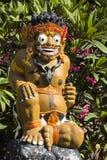 Protetor da estátua a entrada, Sanur, Bali, Indonésia Imagem de Stock Royalty Free