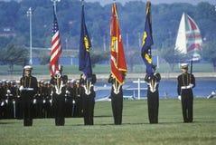Protetor de cor dos Midshipmen Imagem de Stock