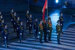 Protetor de honra Armed Forces do Republic of Belarus Fotografia de Stock