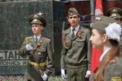 Protetor de honra em Pyatigorsk, Rússia Fotografia de Stock Royalty Free