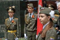 Protetor de honra em Pyatigorsk, Rússia Fotos de Stock