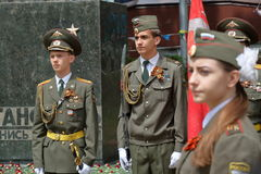 Protetor de honra em Pyatigorsk, Rússia Imagens de Stock
