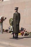Protetor de honra no A M. Fotografia de Stock Royalty Free