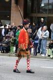 Protetor de honra, parada do dia do St. Patrick Fotos de Stock