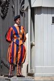 Protetor de Vatican fotografia de stock royalty free