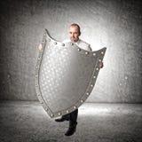 protetor do metal 3d Fotografia de Stock