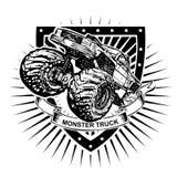 Protetor do monster truck Imagens de Stock