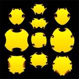 Protetor do ouro Imagens de Stock