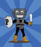 Protetor do robô Foto de Stock
