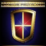 Protetor dourado Fotos de Stock