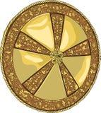 Protetor dourado do vetor Fotos de Stock Royalty Free