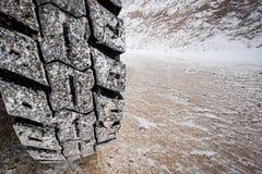 Protetor grande do pneu fotografia de stock