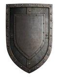 Protetor medieval da brasão isolado Imagem de Stock Royalty Free