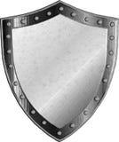 Protetor medieval da fantasia com elementos abstratos decorativos Imagem de Stock