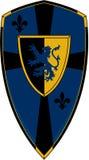 Protetor medieval dos cavaleiros ilustração stock