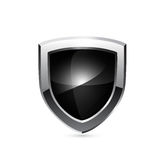 Protetor preto Vetor Imagens de Stock Royalty Free