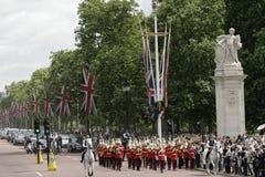Protetor que muda, Londres Fotografia de Stock Royalty Free