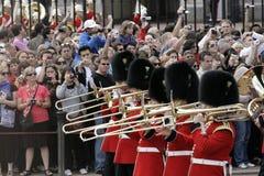 Protetor que muda, Londres fotos de stock royalty free