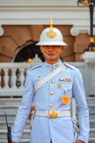 Protetor real no palácio grande de Tailândia Imagens de Stock Royalty Free