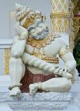 Protetor tailandês do templo Fotos de Stock