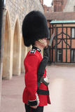 PROTETOR WIDNSOR DA RAINHA DE EENGLISH Fotos de Stock Royalty Free