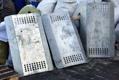 Protetores da polícia do ferro Imagem de Stock Royalty Free