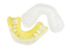 Protetores de boca Imagens de Stock