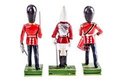 Protetores de ingleses da lata Fotos de Stock Royalty Free