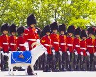Protetores do canadense na citadela de Quebeque Imagem de Stock